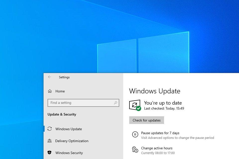 Photo of Windows update